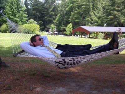Corporate Guest Resting In Hammock 11 of 14