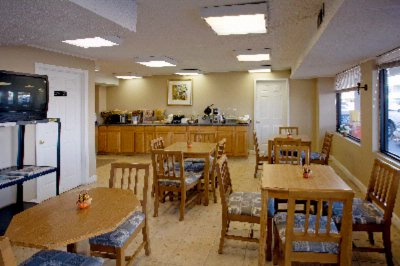 Americas Best Value Inn & Suites Breakfast Area
