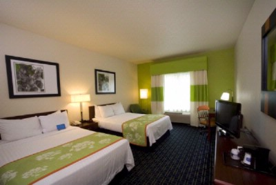 Our Double/double Guest Room Is A Perfect Option For Your Family. With Our New Lcd Flat Panel Tv\'s And Marriott Bedding It Is The Ideal Combination Of Comfort And Affordability. 6 of 13