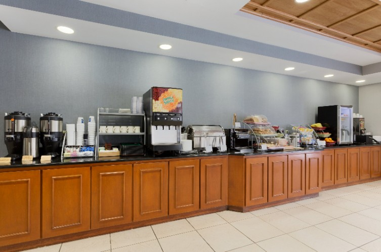 Complimentary Deluxe Expanded Hot Continental Breakfast 4 Of 22