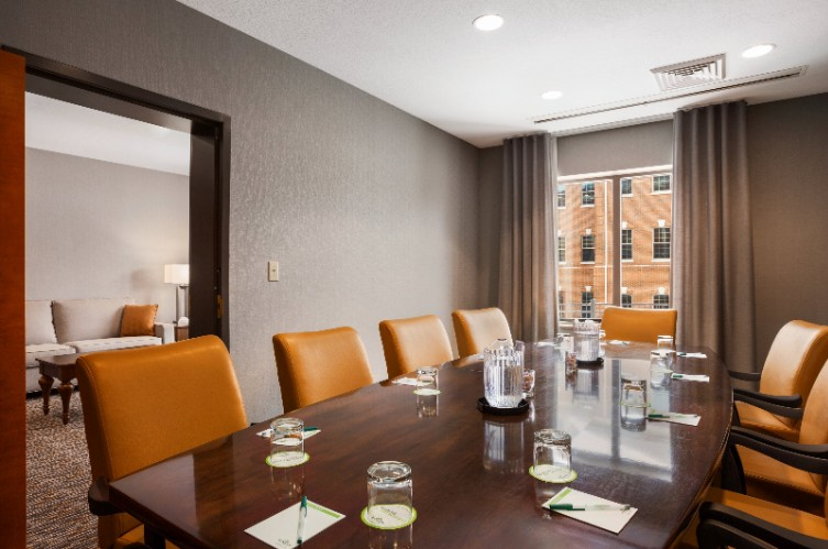 Executive Boardroom Connects To Presidential Suite 9 of 22