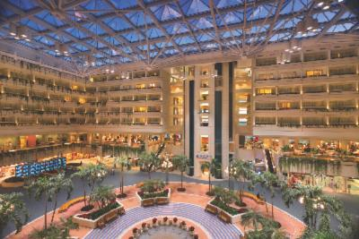 Hyatt Regency Orlando International Aiport Hotel Atrium