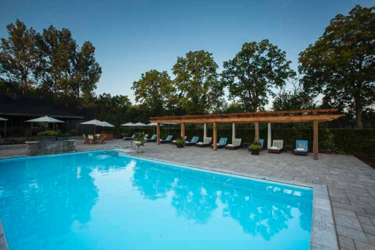 Outdoor Heated Swimming Pool 5 of 11