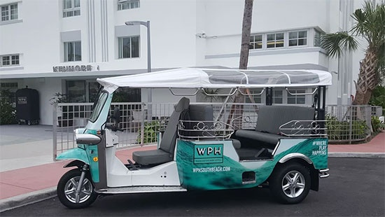 Complimentary Tuk Tuk Shuttle Service Brings Guests To The Beach And Around South Beach 11 of 14
