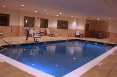 Take A Dip In Our Indoor Saltwater Pool. 6 of 9
