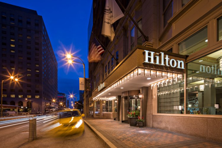 Hilton St Louis Downtown At The Arch 400 Olive Mo 63102