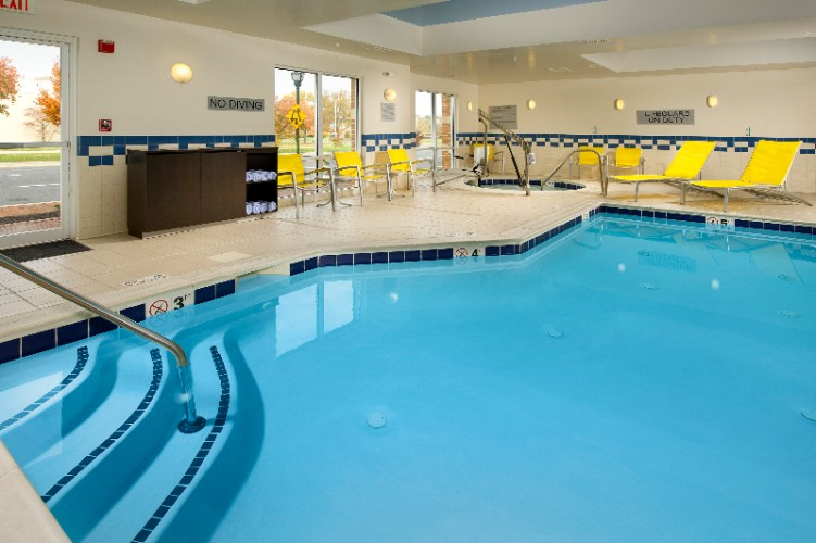 Relax In Our Indoor Pool. 6 of 11