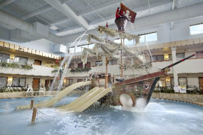 Pirate Ship In Water Park 9 of 21