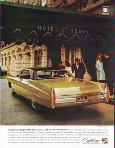 Old Cadillac Ad In Front Of The Hotel 26 of 27