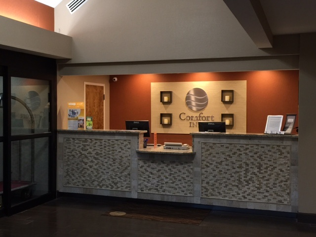 Our New Stylish Registration Check-In Area 15 of 16