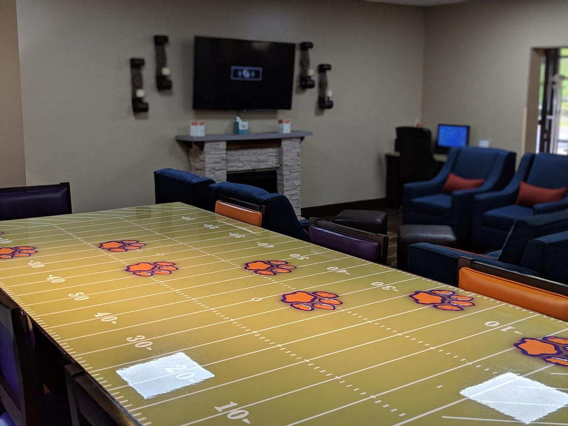 Football Table In Our Stylish Hotel Lobby Area 3 of 16
