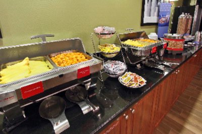 Enjoy Our Complimentary Hot Breakfast Bar 12 of 16