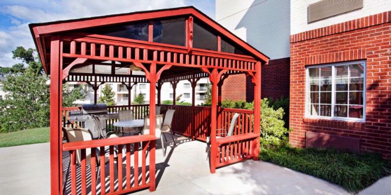 Outdoor Gazebo & Grill 11 of 13