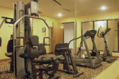 While Your Here Don\'t Break Your Routine And Join Us In Our Exercise Room 3 of 5