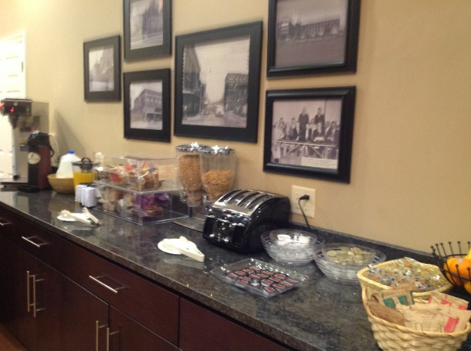 Continental Breakfast Area 9 of 10