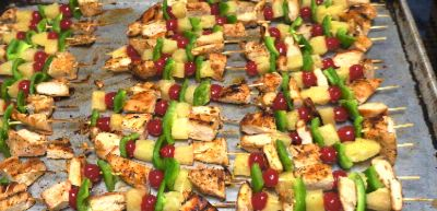 Pineapple Chicken Kabobs @ Ramada 15 of 15