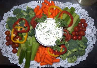 Veggie Tray By Mr. D\'s Bar & Grille 10 of 16