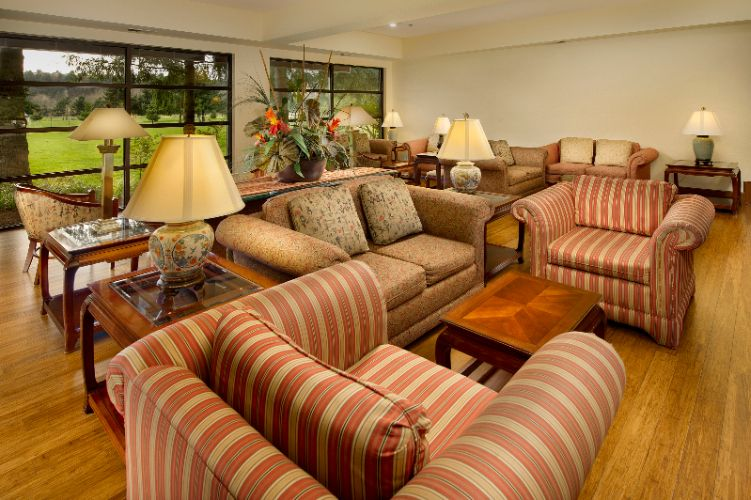 Our Lobby Overlooks The Riverbend Golf Course 4 of 14