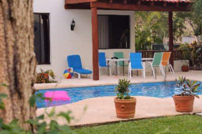 Green Oasis Home Boutique Pool 11 of 16
