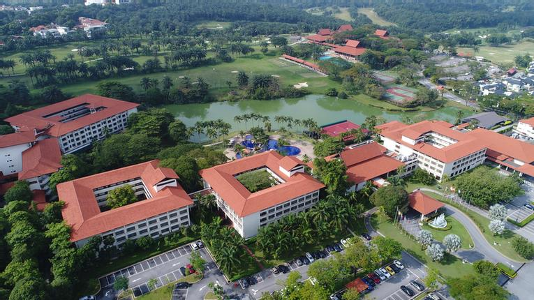 Aerial View Of Saujana Hotels & Resorts 2 of 11