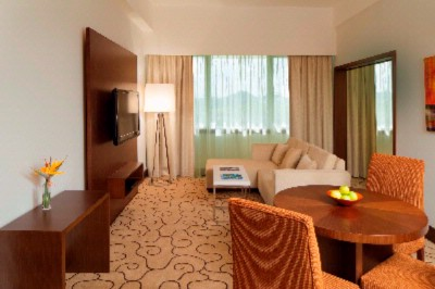 Executive Suite Lounge Includes A Lounge Suite A Dining Table And A Kitchenette With A Microwave. 12 of 19