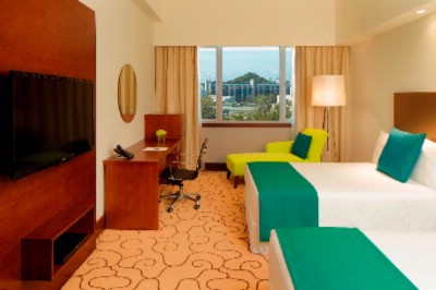 Deluxe Room Measuring 27 Square Meters With A View Of The Capital City Of Bandar Seri Begawan. 10 of 19