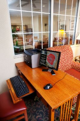 Need To Print A Boarding Pass Or Directions To Your Next Appointment? We Offer A Lobby Computer For Your Use With Internet Access. 6 of 11