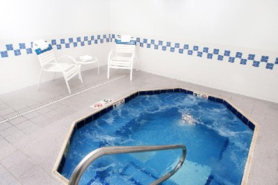 Relax In Our Indoor Whirlpool Spa. At A Comfortable 102 Degrees You Can Feel Your Stress Wash Away. 8 of 11