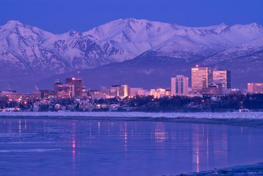 Anchorage City Skyline 13 of 13
