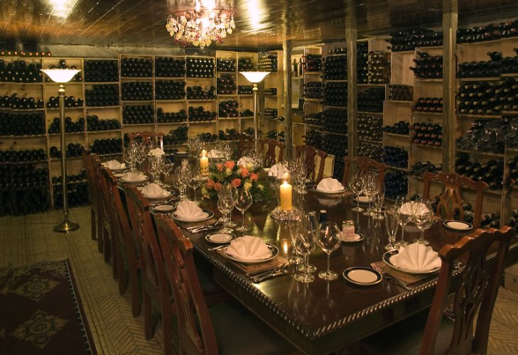 Graycliff Private Dining In Wine Cellar 18 of 21