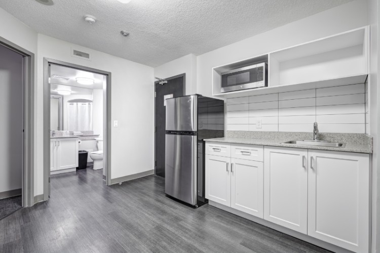 Kitchenette In Every Unit 6 of 14