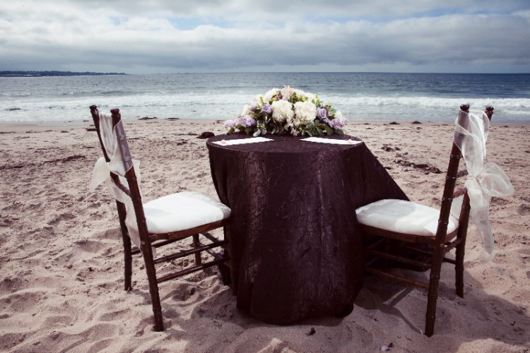 Private Table On The Beach 16 of 16
