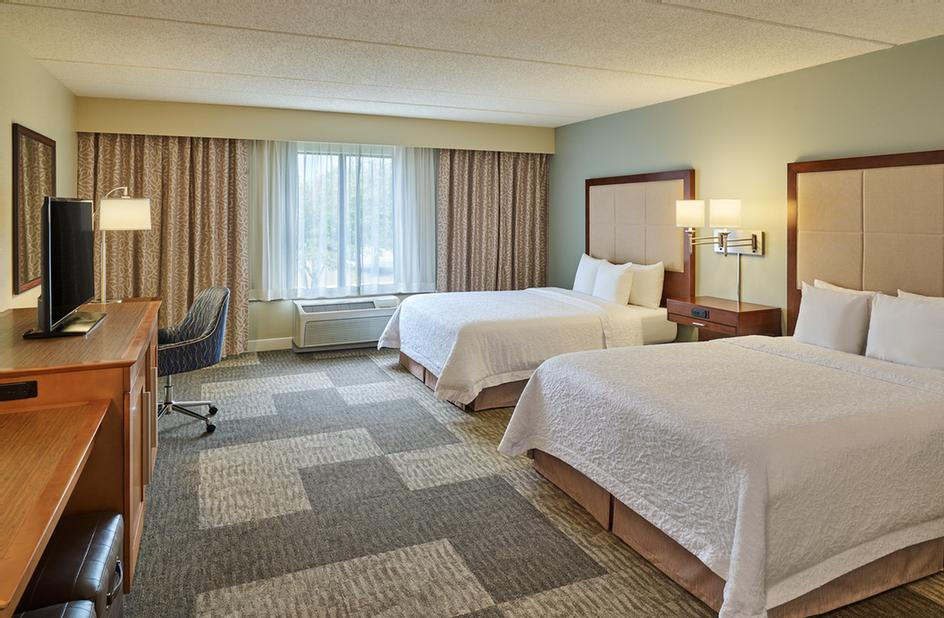 Up To Four Adults Can Sleep In Our Standard Double Queen Comfortably. The Hampton Inn & Suites Schertz A Great Choice For Sprots Teams Families And School Groups. 13 of 14