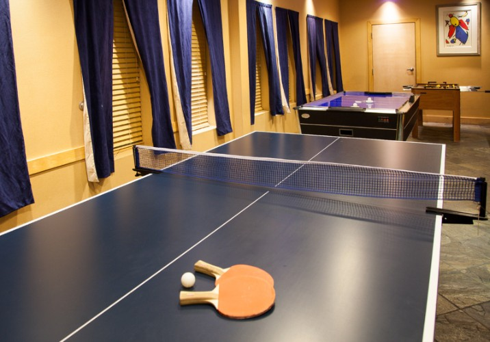Complimentary Games Room Featuring Foosball Air Hockey & Table Tennis 5 of 31