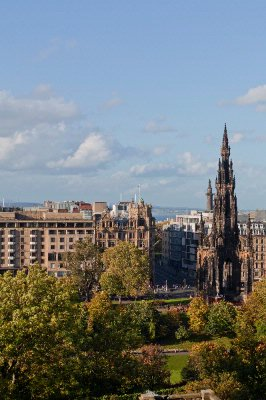 The Scott Monument From The North Facing Apartments 5 of 7