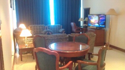 Holiday Inn Sharjah One Bedroom Suite Living Room Area 6 of 21