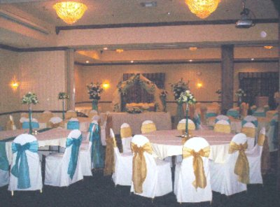 Grand Ballroom Set For Wedding Reception 7 of 9