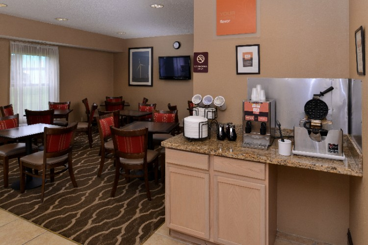 Complimentary Hot Breakfast Served Daily 5:30am-9am 17 of 29