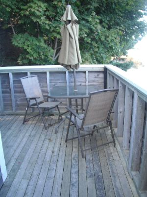 Ships Wheel Private Deck 3 of 10
