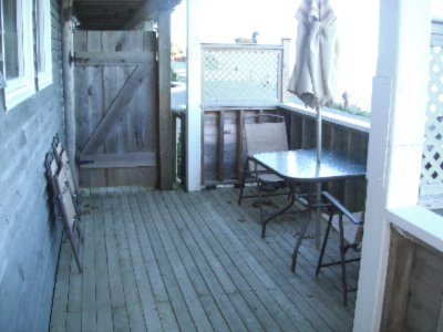 Captain\'s Quarters Private Deck 5 of 10
