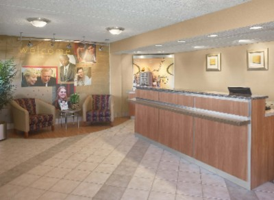 Red Roof Inn Lobby And Coffee Bar