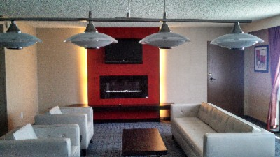 Fireplace In Presidential Suite 11 of 23