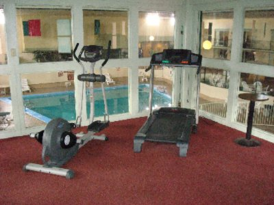 Upstairs Gym Overlooking The Pool 8 of 10