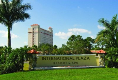 International Plaza Resort & Spa Front Entry
