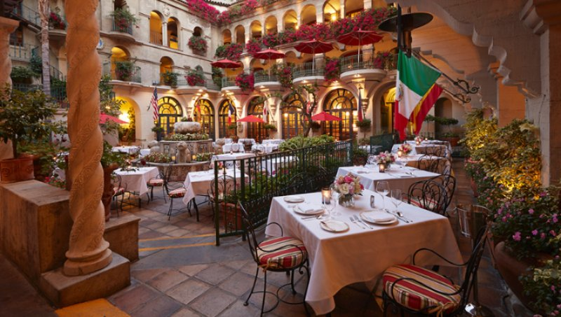 The Mission Inn Restaurant Spanish Patio 5 of 16