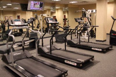 Keep Your Daily Excerise Routine In Our Oversized Fitness Center. 7 of 12
