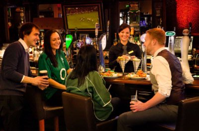 Traditional Irish Sports Bar 2 of 12