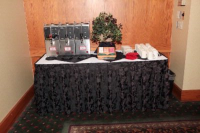 Coffee Station Set Up 24 of 28