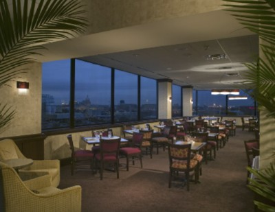 Beautiful Eighteenth Over Austin Restaurant. Panoramic View Of Downtown Austin. Wonderful Cuisine 5 of 11