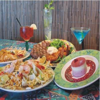 Atlas Inn\'s Bloody Mary\'s Bar & Grill Features Island Specialties 7 of 11